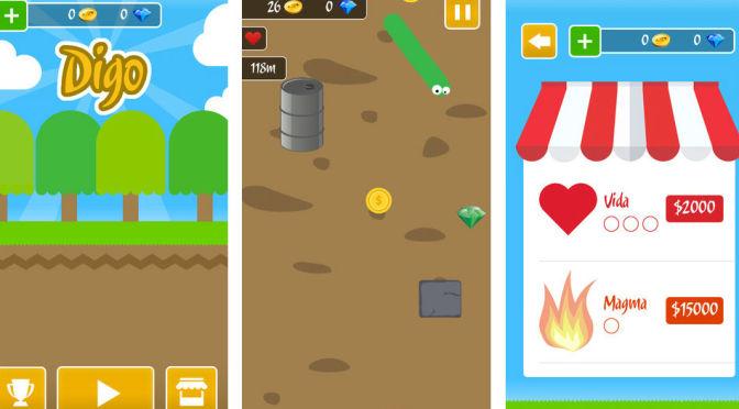 As Aventuras de Digo: endless runner para iOS