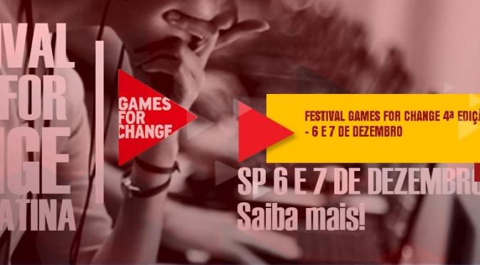 IV Festival Games For Change América Latina ocorre na PUC-SP em Dezembro