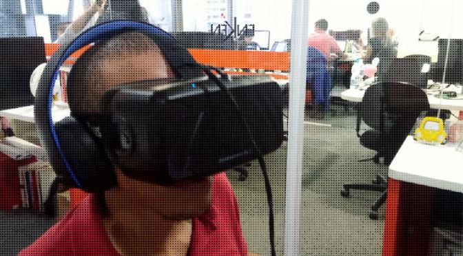 Testamos o Oculus Rift. E gostamos do que vimos!