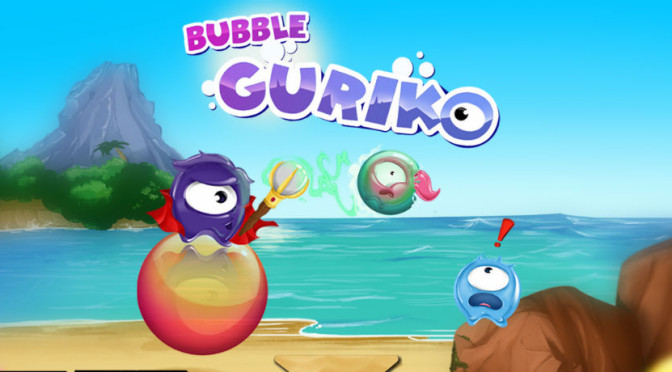Pupgam Studios lança Bubble Guriko no Brasil