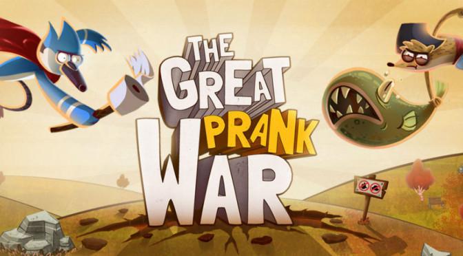 The Great Prank War da Aquiris Game Studio está na seleção do Melhor de 2014 da App Store