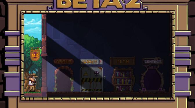 Portfólio do Estúdio Beta 2 do RS foi desenvolvido em formato de game
