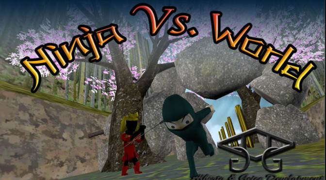Ninja vs World: ajude o ninja a dominar o mundo neste endless runner para Android