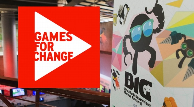 BIG Change: BIG Festival formaliza parceria inédita com a Games for Change