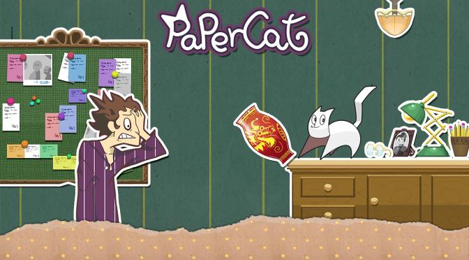 Ilusis Interactive Graphics anuncia o jogo Paper Cat