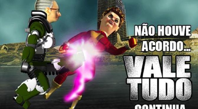 Vale Tudo: Dilma e Eduardo Cunha saem no tapa em jogo da Lizards Games