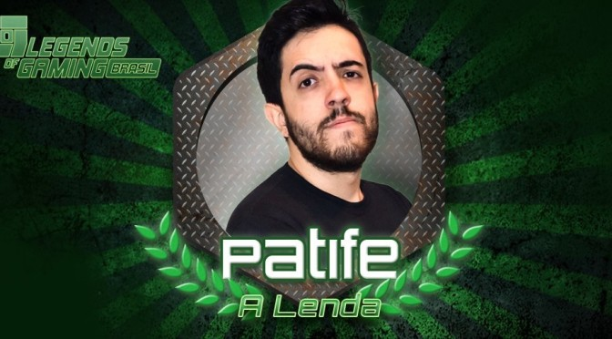 Patife vence o reality show Legends of Gaming Brasil