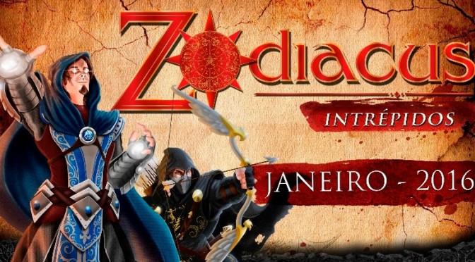 Conheça Zodiacus Intrépidos, jogo de tabuleiro com premissa de MOBA