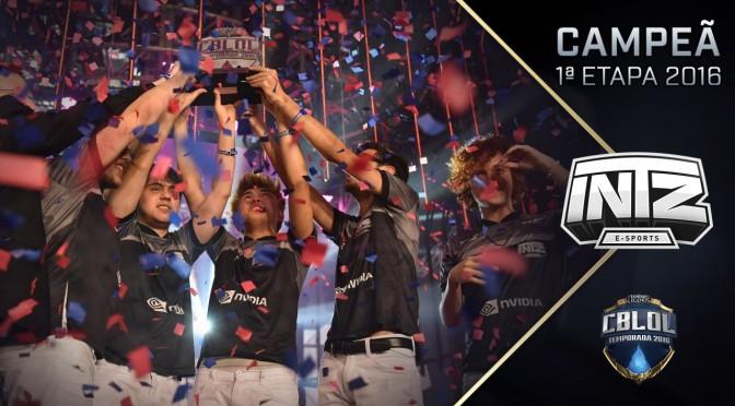 INTZ conquista o bicampeonato do CBLoL 2016