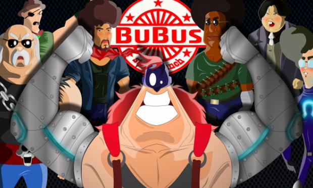 Jogo de luta com elementos de comédia Bubus Steel Punch entra em financiamento coletivo