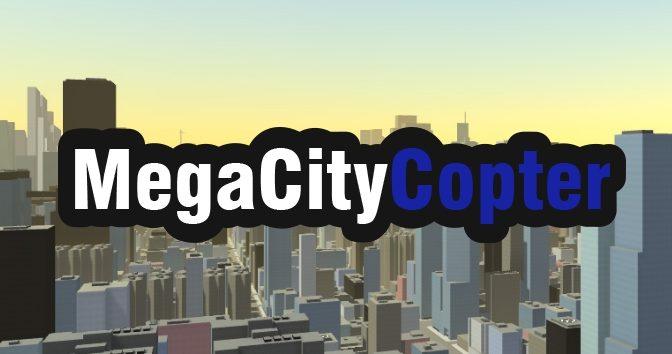 Sobrevoe uma grande metrópole no jogo indie MegaCityCopter