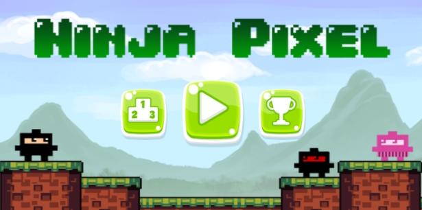 Conheça o game indie Ninja Pixel do estúdio FlipFlop Lab