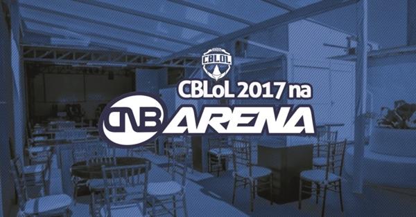 CNB Arena transmitirá todas as partidas da temporada de 2017 do CBLoL