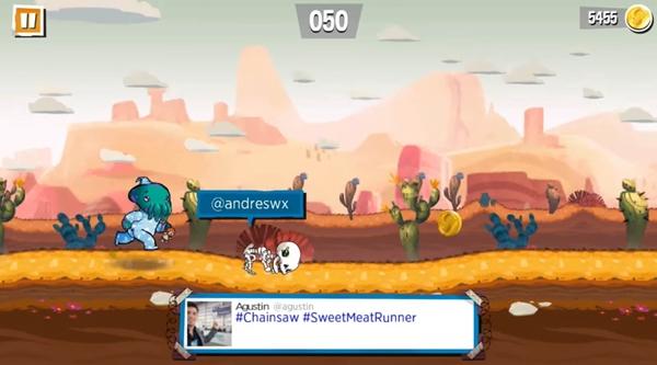 Sweet Meat: envie obstáculos para atrapalhar seus amigos por meio de Tweets
