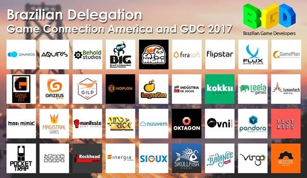 Brasil tem maior delegação participando da GDC e Game Connection America