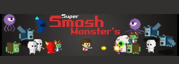 Conheça o shmup Super Smash Monster's do estúdio indie Moraes Studio