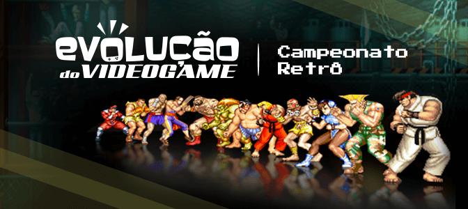 Campeonato retrô de Street Fighter II é confirmado na Brasil Game Cup Rio