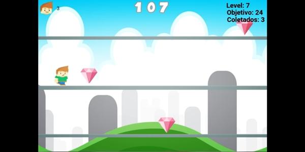 Conheça Diamond Rush, um game infinite runner indie para Android