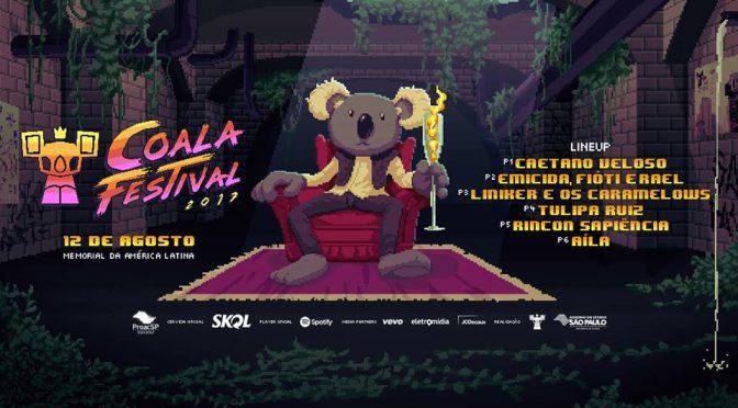Coala Festival 2017 baseia sua identidade visual em games