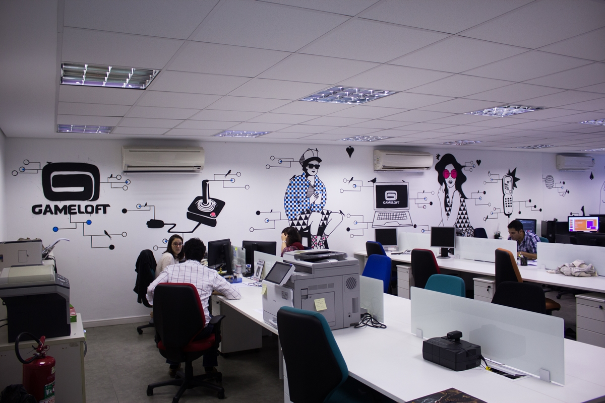 A sede da Gameloft Brasil