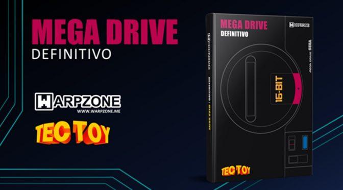 Warpzone lança livro com a história definitiva do Mega Drive