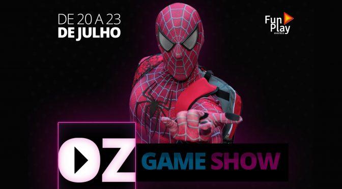 OZ Game Show promete atrair fãs de videogames até Osasco