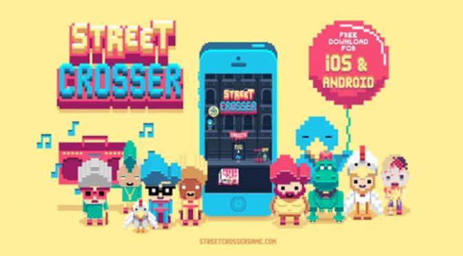 Game Street Crosser estará disponível para jogatina no Metrô República