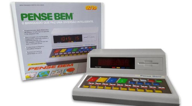 Tectoy relança o Pense Bem, eletrônico de grande sucesso nos anos 80