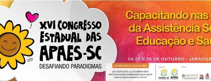 Congresso Estadual das APAEs/SC apresenta mesa digital com games educativos que apoiam a inclusão