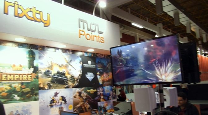 Jogos em realidade virtual são atração da Rixty na Brasil Game Show 2017