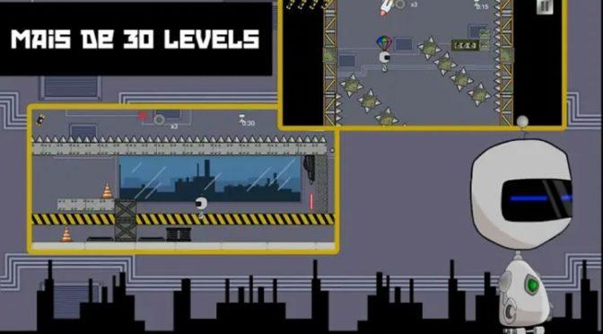 Robô Breakout é o game indicado para quem curte jogos de plataforma 2D e um desafio de alto nível