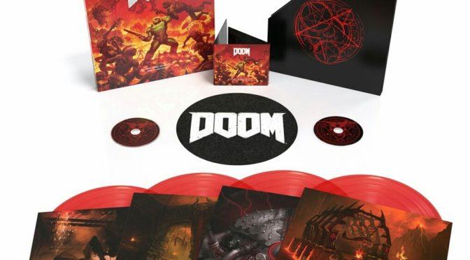Trilha Sonora Original de DOOM será lançada em vinil e CD no Inverno de 2018
