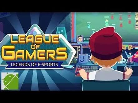 Torne-se uma lenda dos e-Sports no jogo mobile League of Gamers, jogo gratuito para Android