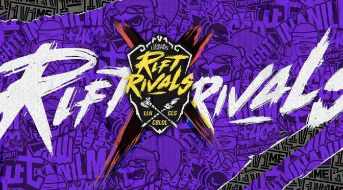 League of Legends – Rift Rivals chega ao Brasil pela primeira vez e já tem times e local definidos