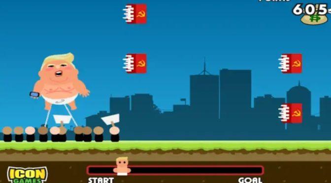 Baby Trump – Novo jogo da Icon Games usa bom humor para retratar protestos contra o presidente mais polêmico dos últimos tempos