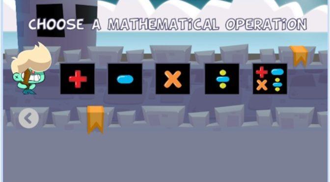 Conheça Math Boy, o jogo indie para quem está aprendendo a resolver as quatro operações da Matemática