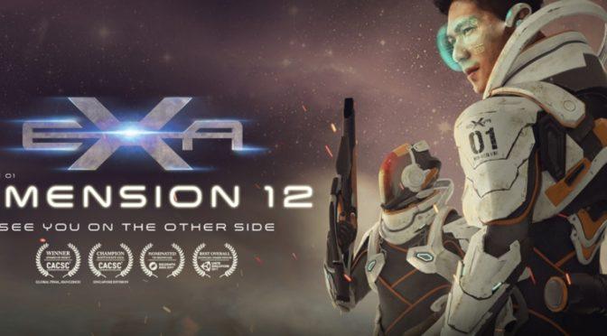 Exa Dimension 12 – VR Gamer lança novo jogo de realidade virtual no Brasil