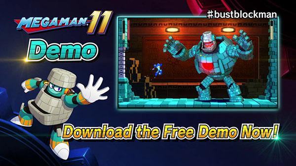 Demo de Mega Man 11 já esta disponível para todas as plataformas