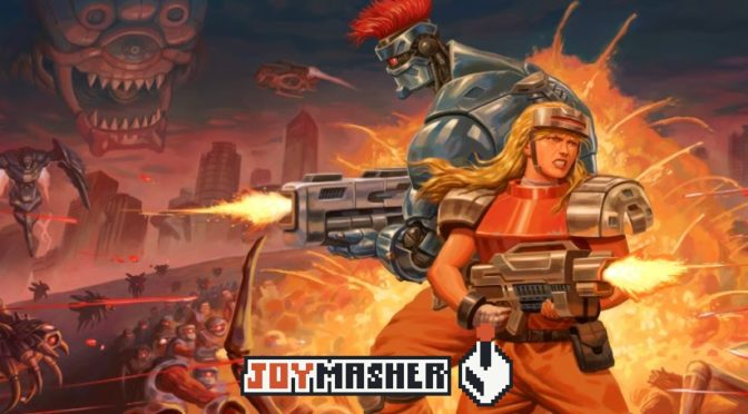 Blazing Chrome vai desafiar jogadores no Nintendo Switch, PlayStation 4 e PC no começo de 2019