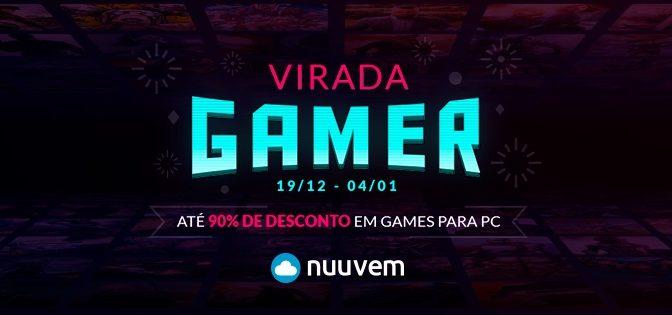 Nuuvem realiza promoção Virada Gamer