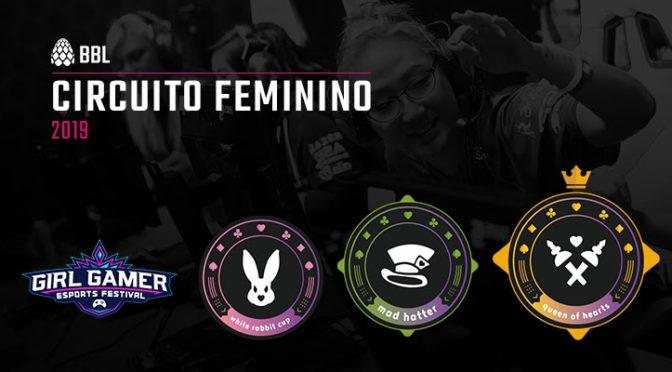 BBL anuncia circuito de torneios femininos com etapas durante o ano todo