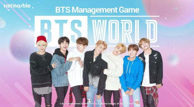 Lançamento de BTS WORLD é anunciado para 25 de junho