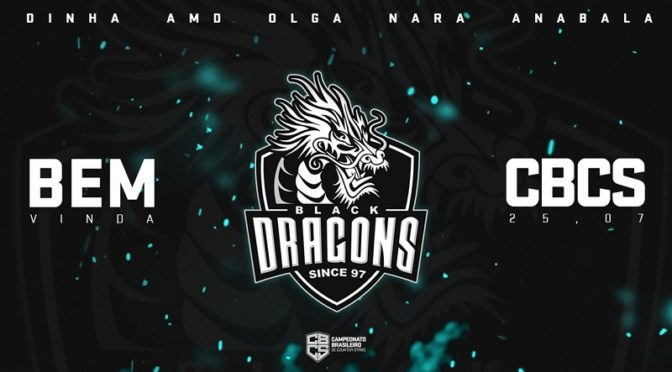 Black Dragons disputará Campeonato Brasileiro de Counter-Strike com line-up feminina