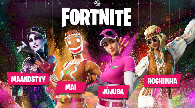 Athena's e-Sports anuncia lineup de Fortnite no PC