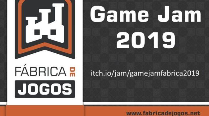 Segunda edição da Game Jam Fábrica de Jogos tem data marcada para novembro
