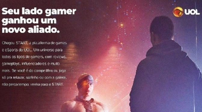 """START – plataforma de games do UOL, lança campanha """"Somos Todos Gamers"""""""
