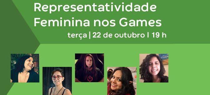 Representatividade Femininanos Games é o tema da próxima palestra doConselho da Diversidadeda Abragames