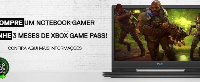 Dell oferece Xbox Games Pass para PCs sem custo em todos os notebooks da linha gamer
