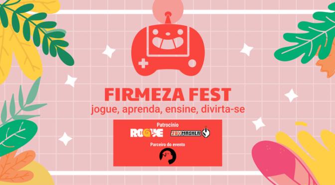 Firmeza Fest – evento em São Paulo reunirá desenvolvedores de jogos indie