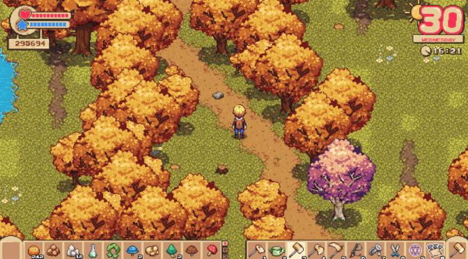 Fantasy Farming: Orange Season – game de administração de fazenda com toque de RPG é lançado na Steam